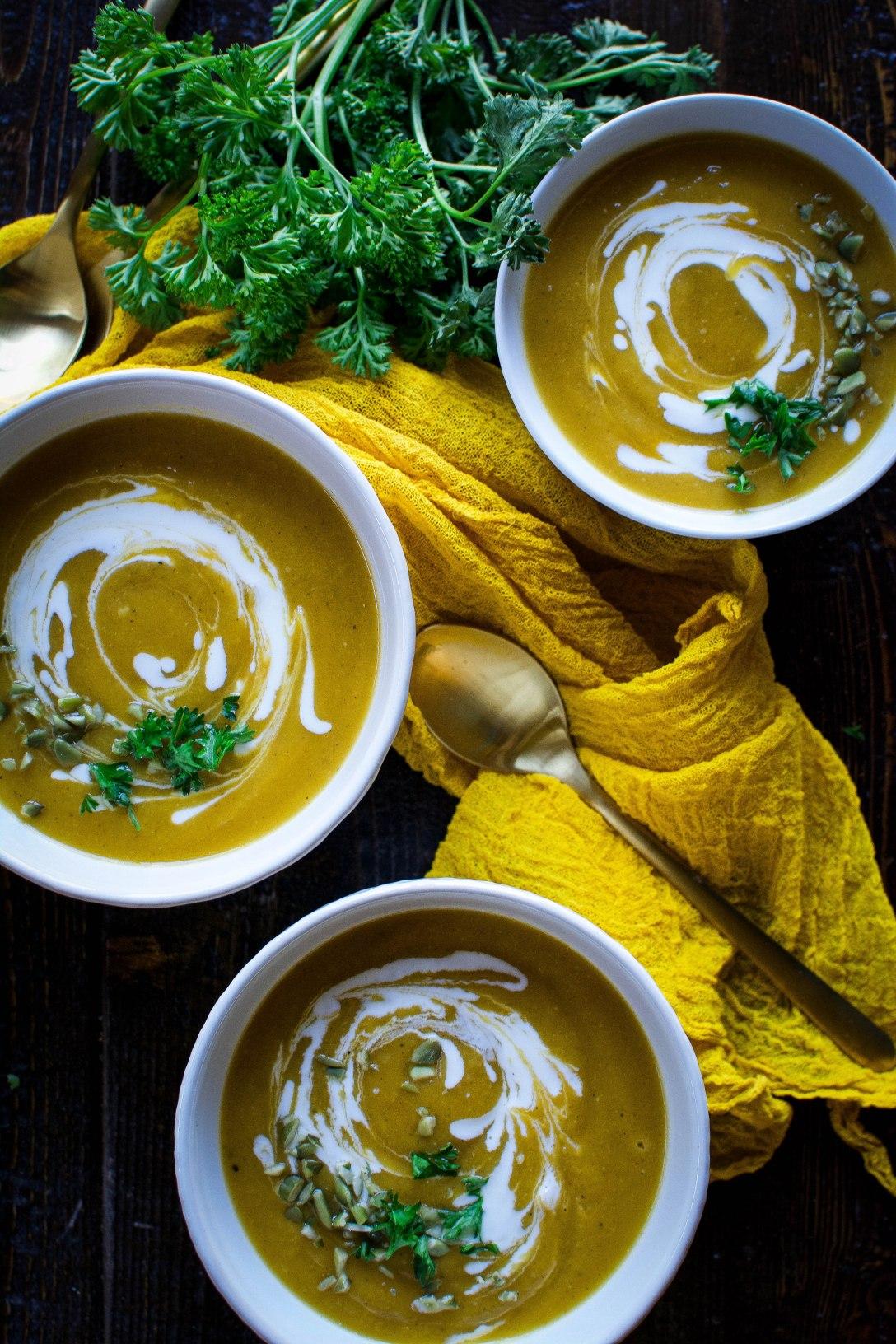 pumpkin soup 9