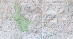 on fog and topographic maps