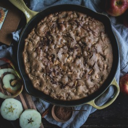 the first snowfall (and apple cake)